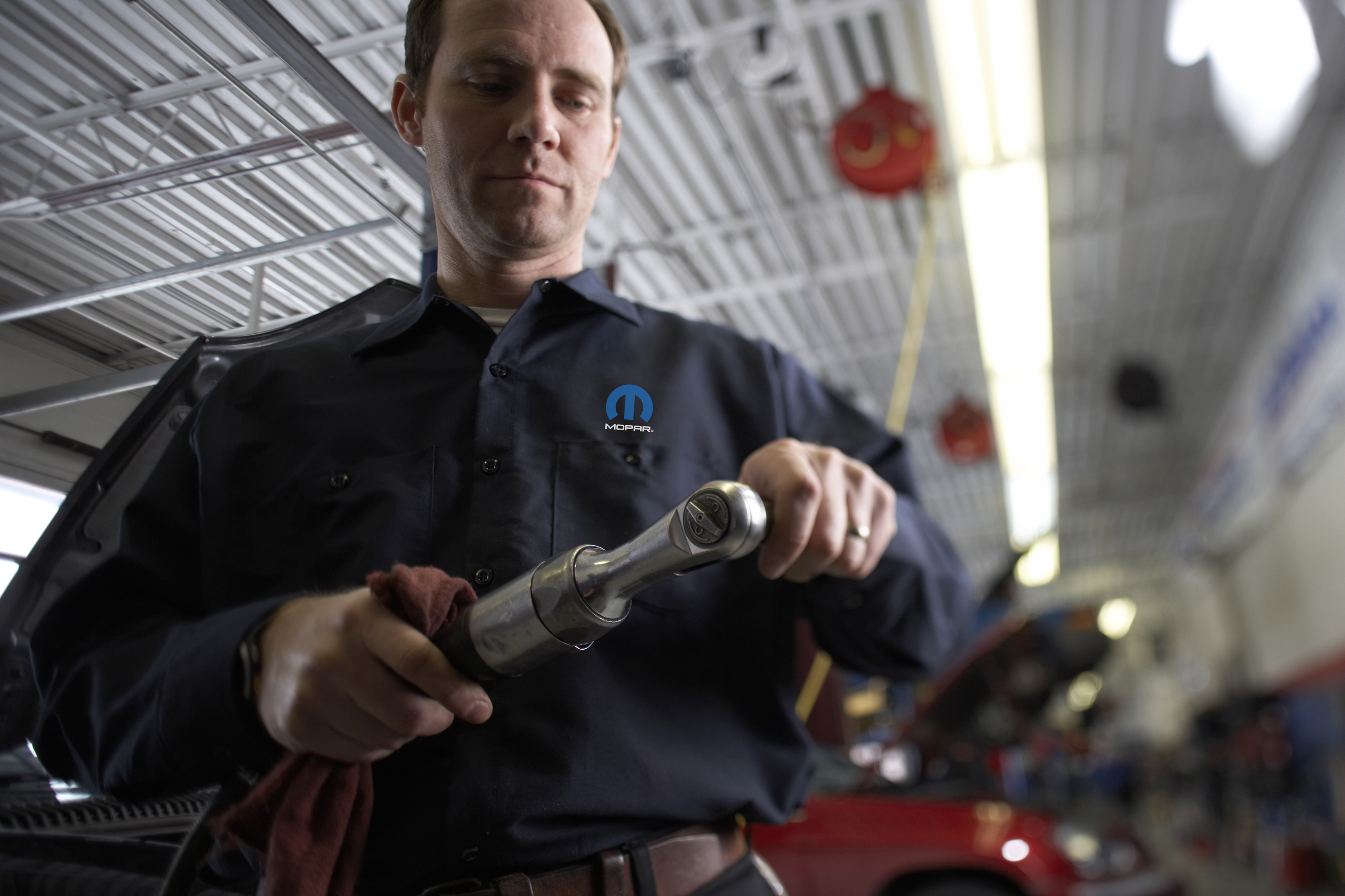 Mopar is Chrysler Group's service, parts and customer-care brand