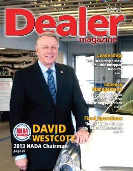 Dealer January 2013 Cover