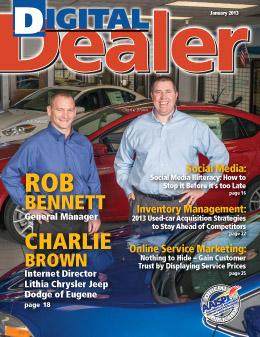 Digital Dealer January 2013 Cover 1