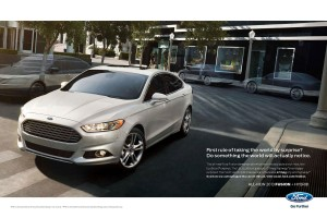 All-New Ford Fusion Print Campaign