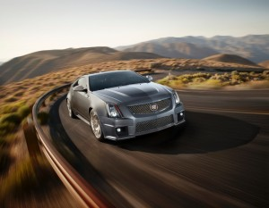 Cadillac CTS-V Coupe Silver Frost Ed
