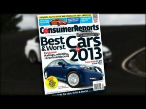 consumer reports 2013
