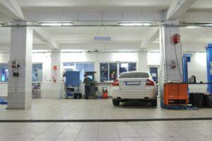 service repair shop