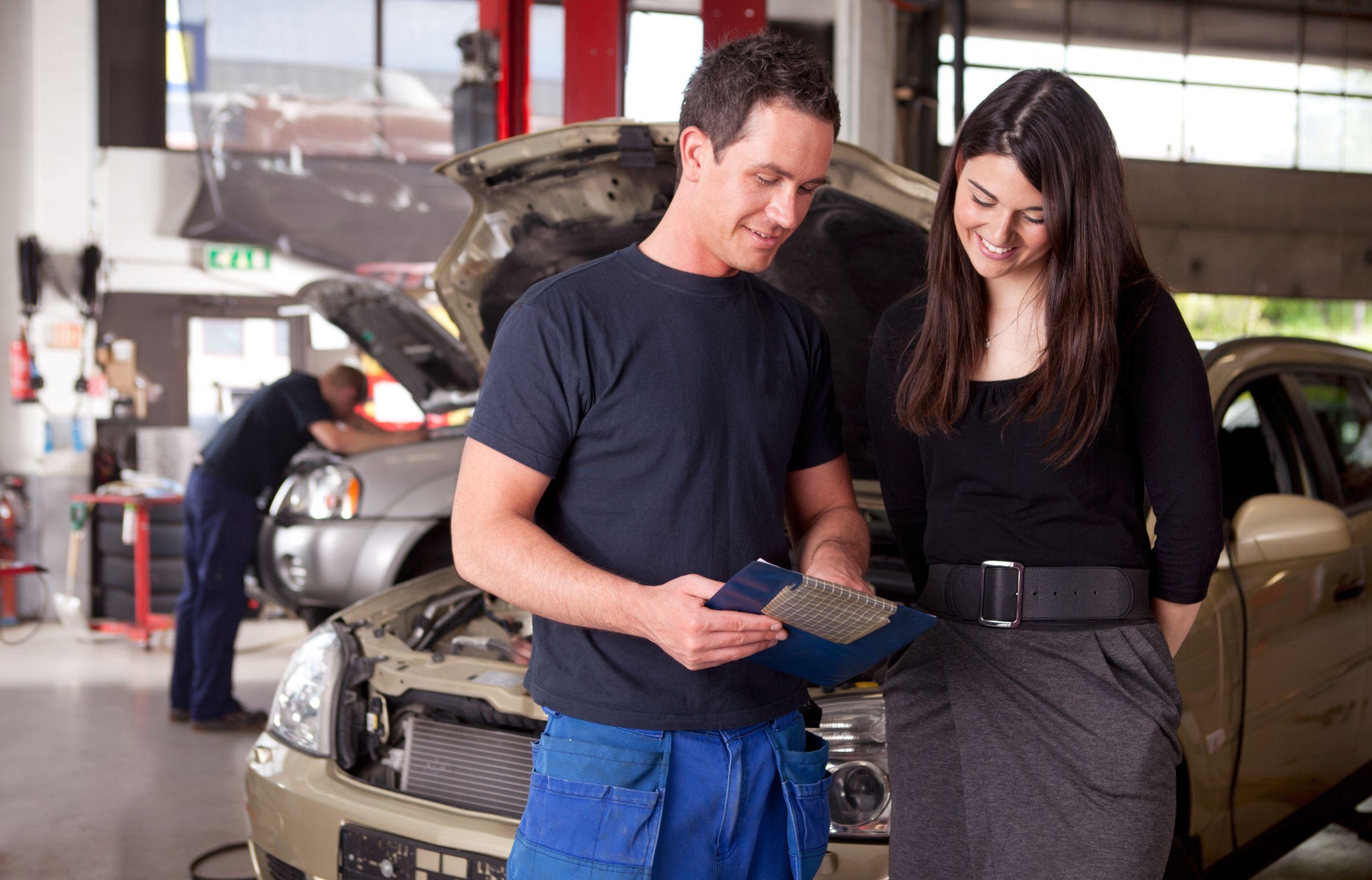 mechanic customer