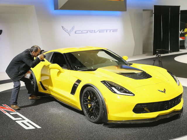 Annual North American Auto Show Held In Detroit